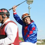 Adolfo Morales Wins on Flashy Jewel